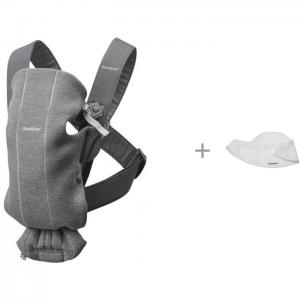 Рюкзак-кенгуру  Mini Cotton Jersey и Нагрудник для рюкзака-переноски 2 шт. BabyBjorn