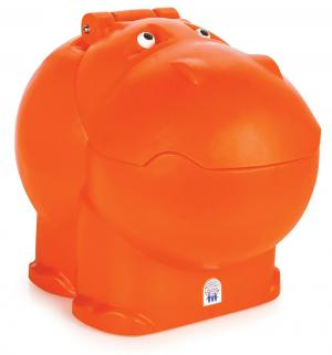 Ящик для игрушек  Hungry Hipo, цвет: оранжевый Pilsan