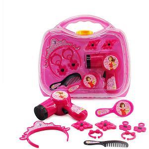 Игровой набор парикмахера Altacto Чемоданчик красоты, 8 предметов. Цвет: разноцветный