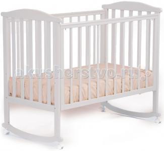 Детская кроватка  АБ 15.0 Лютик качалка без ящика Кубаньлесстрой