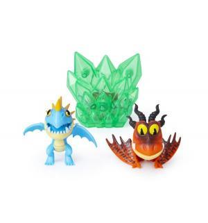 Игровой набор  Громильда и Кривоклык 8 см Dragons