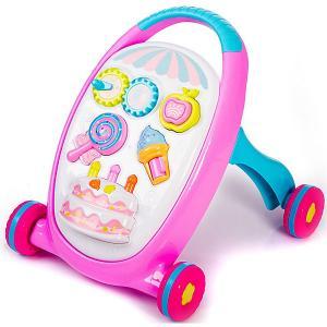 Игрушка-каталка  Move&Play Sweets Baby Hit. Цвет: розовый