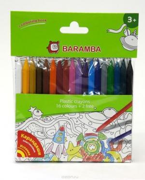 Карандаши цветные  18 шт. Baramba