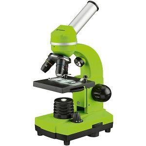 Микроскоп  Junior Biolux SEL, 40–1600x, зеленый Bresser. Цвет: зеленый