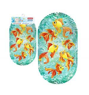 Коврик для ванны  Золотые рыбки Valiant
