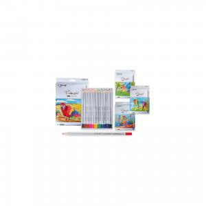 Цветные карандаши, 18 цветов Schreiber
