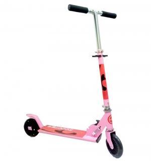 Самокат  W-KS001, цвет: розовый Kids Cool