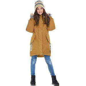 Утеплённая куртка Oldos Ариадна. Цвет: оранжевый