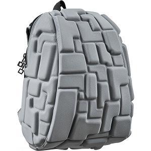 Рюкзак  Blok Half, 36х30х15 см MadPax. Цвет: серый