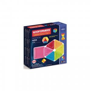 Магнитный конструктор 714005 Window Solid 14 set, MAGFORMERS