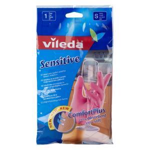 Перчатки  для деликатных работ Sensitive, S Vileda