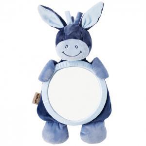 Игрушка мягкая Зеркало Mirror for car Alex & Bibiou Ослик и Кролик Nattou