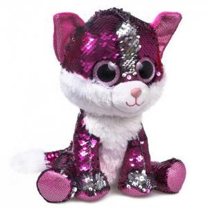 Мягкая игрушка  глазастик Котик Рубин Fancy