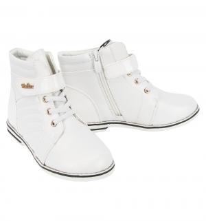 Ботинки , цвет: белый Колобок