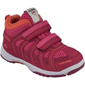 Кроссовки CASCADE II MID GTX Viking для девочки. Цвет: розовый