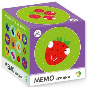 Настольная игра-мемо Dodo Ягодки, 24 фишки Dido