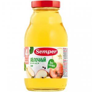 Сок  яблоко, 200 мл Semper