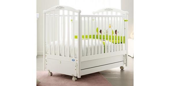 Детская кроватка  Gulia поперечный маятник Pali