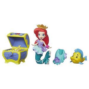 Игровой набор с мини-куклой Disney Princess Маленькое королевство Ариэль Hasbro