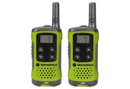 Рация  Комплект из двух радиостанций TLKR-T41 и набор игрушек Motorola