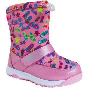 Дутики BiKi. Цвет: розовый