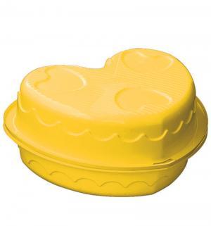 Песочница  Сердечко, цвет: желтый Palplay