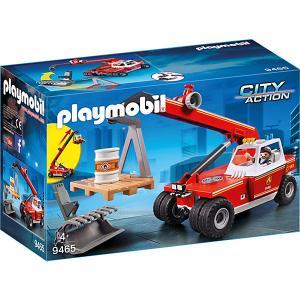 Игровой набор Playmobil «Пожарная служба: пожарный кран» PLAYMOBIL®