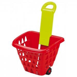 Детская корзина для продуктов на колесах Ecoiffier