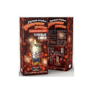 Набор для творчества  Фикси-свечи Цветочное сияние Висма. Цвет: разноцветный