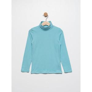 Джемпер  для девочки SELA. Цвет: голубой