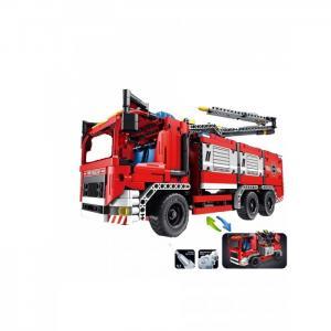 Пожарная машина 2 в 1 (1288 элементов) QiHui
