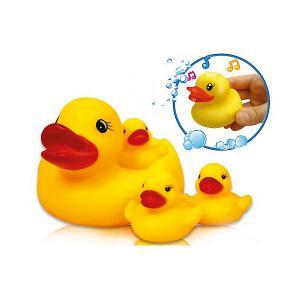 Игрушка для ванной  Утиная семья Bebelino. Цвет: разноцветный