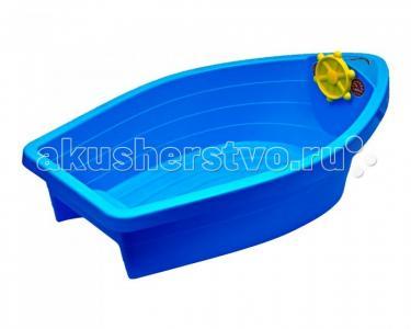 Песочница-бассейн Лодочка пластик Palplay (Marian Plast)
