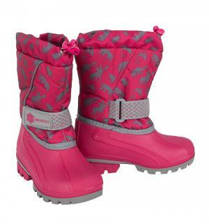 Сноубутсы , цвет: розовый Nordman