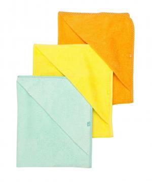 Полотенце-уголок , 3 шт. в упаковке Mothercare