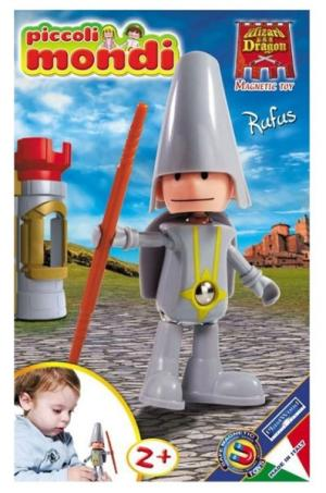Конструктор  Piccoli Mondi Wizard & Dragon Rufus Plastwood