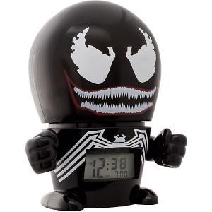 Будильник Kids Time BulbBotz Marvel «Веном» минифигура Детское время. Цвет: черный
