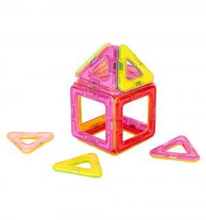 Конструктор  Магический магнит, розовый/красный Tongde