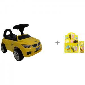 Каталка  BMW JY-Z01B и мыльные пузыри 1 Toy Мы-шарики! RiverToys