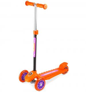 Самокат  Cosmic Zoo Galaxy One, цвет: оранжевый Small Rider