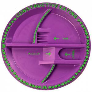 Garden Fairy Plate Тарелка Серия Волшебный сад Constructive eating