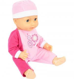 Пупс  в розовой одежде 40 см Bayer