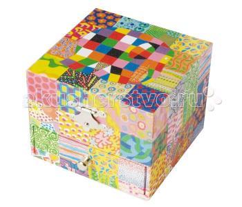 Музыкальная шкатулка-куб Elmer Classic Trousselier