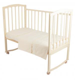 Комплект постельного белья  Фантазия, цвет: золотой 3 предмета Leader Kids
