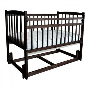 Детская кроватка  Беби маятник продольный Массив