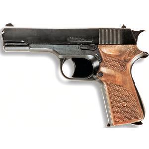 Пистолет  Jaguarmatic, 16,5 см Edison. Цвет: черный