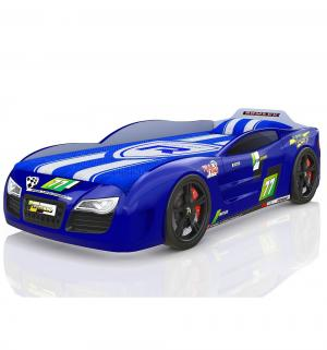 Кровать-машинка  Renner 2, цвет: синий Romack