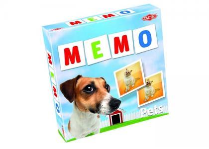 Мемо-карточки Животные-2 Tactic Games