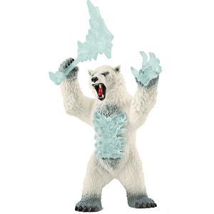 Фигурка  Снежный медведь, с оружием Schleich. Цвет: разноцветный