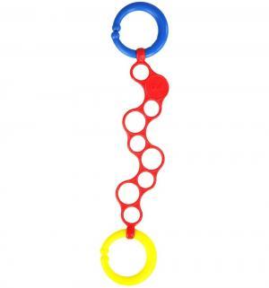 Держатель для игрушек  Колечки O-Links, цвет: красный, 30 см Oball